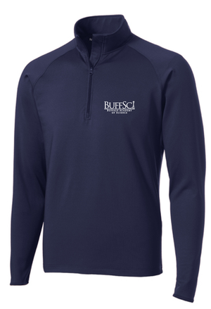 BuffSci - Men's 1/2-Zip Pullover - ST850,  - Artdogtees