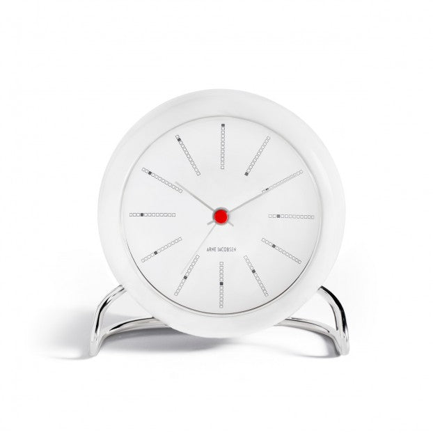 Arne Jacobsen Banker's Table Clock (FREE SHIPPING)