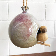 Load image into Gallery viewer, Brent Bennett Ceramic Birdhouse (FREE SHIPPING)