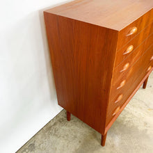 Load image into Gallery viewer, Danish Modern Teak Dresser