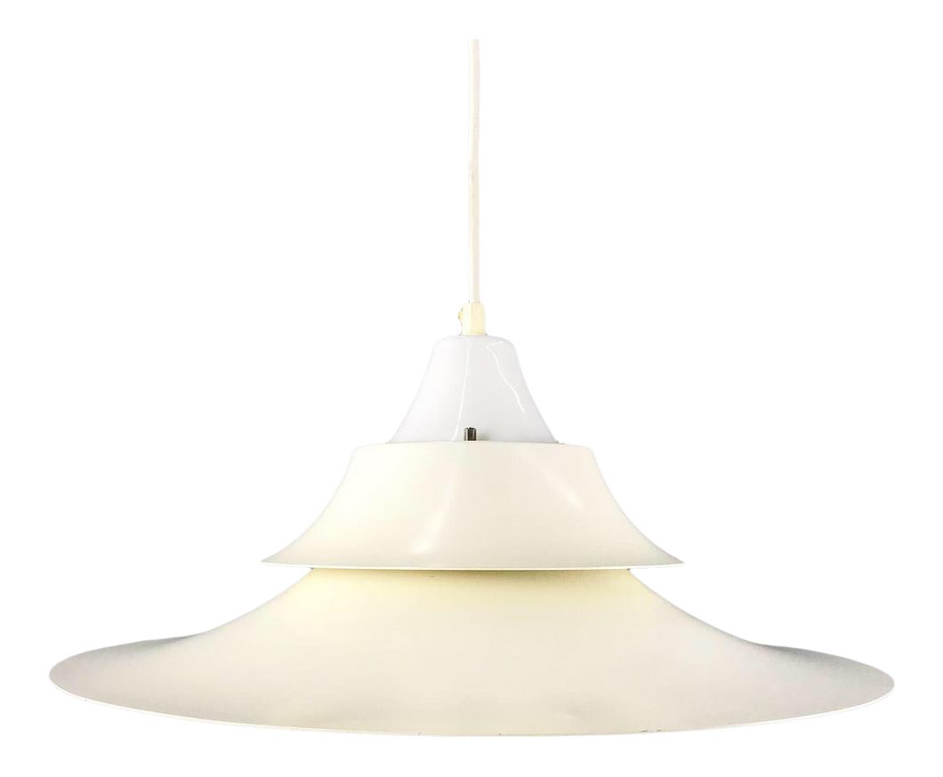 Danish Modern White Pendant Lamp (FREE SHIPPING)
