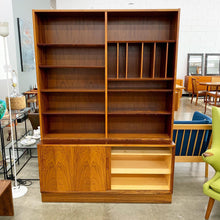Load image into Gallery viewer, Danish Rosewood Credenza & Bookcase by Poul Hundevad (FREE SHIPPING)