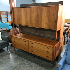 Danish Teak Credenza by Hans Wegner for Ry Mobler