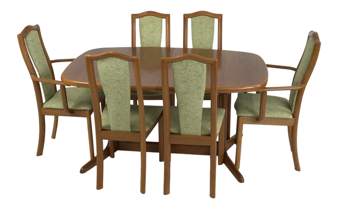 Danish Teak Dining Set by Skovby (FREE SHIPPING)