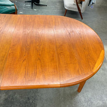 Load image into Gallery viewer, Danish Teak Dining Table by Laurits M. Larsen (FREE SHIPPING)