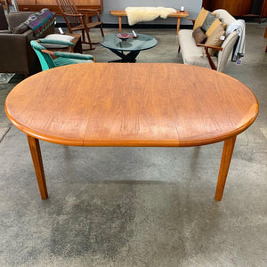 Danish Teak Dining Table by Laurits M. Larsen (FREE SHIPPING)