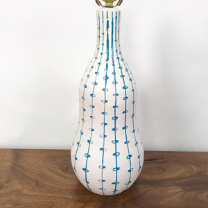 Italian Ceramic Table Lamp by Raymor (FREE SHIPPING)