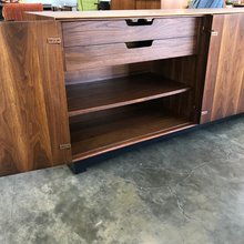 Load image into Gallery viewer, John Kapel Walnut Credenza for Glenn of California (FREE SHIPPING)