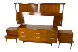 Kent Coffey Tableau Walnut Bedroom Set (FREE SHIPPING)