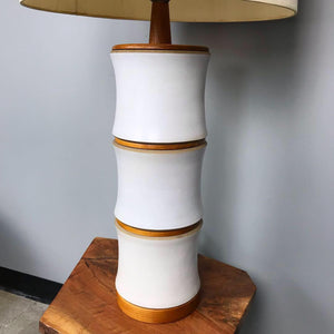 Large Ceramic Lamp by Jane & Gordon Martz (FREE SHIPPING)