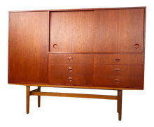 Load image into Gallery viewer, Large Danish Teak Credenza