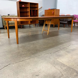 Large Danish Teak Dining Table by Henning Kjaernulf (FREE SHIPPING)