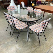 Load image into Gallery viewer, Mid Century Modern Iron Patio Dining Set (FREE SHIPPING)