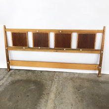 Load image into Gallery viewer, Mid Century Modern King Size Headboard (FREE SHIPPING)