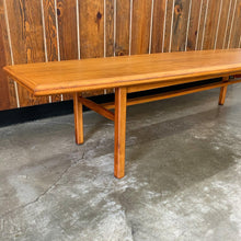 Load image into Gallery viewer, Mid Century Modern Walnut Coffee Table