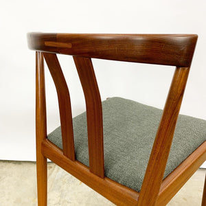 Newly Refinished & Reupholstered Set of 10 Dining Chairs (FREE SHIPPING)