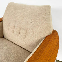 Load image into Gallery viewer, Pair of Wool Norwegian Lounge Chairs by Pi Langlos (FREE SHIPPING)
