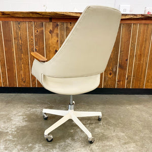 Rare Rolling Office Chair Designed by Arthur Umanoff (FREE SHIPPING)