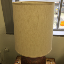 Load image into Gallery viewer, Red Lava Glazed Table Lamp (FREE SHIPPING)