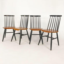 Load image into Gallery viewer, Set of 4 Dining Chairs by Ilmari Tapiovaara (FREE SHIPPING)