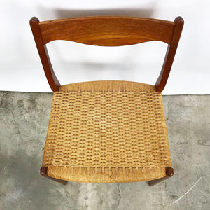 Set of 6 Danish Dining Chairs by Arne Wahl Iversen for Glyngøre Stolfabrik (FREE SHIPPING)