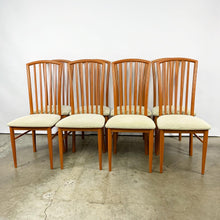 Load image into Gallery viewer, Set of 8 Italian High Back Dining Chairs (FREE SHIPPING)