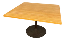 Load image into Gallery viewer, Solid Oak Top Table Designed by Ilmari Tapiovaara for Icf Furniture (FREE SHIPPING)