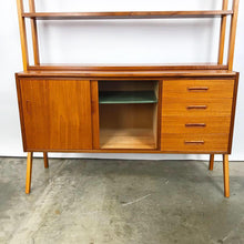 Load image into Gallery viewer, Swedish Modern Teak Secretary Cabinet (FREE SHIPPING)