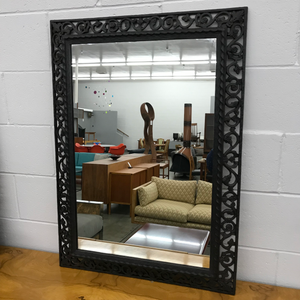 Vintage Black Wall Mirror (FREE SHIPPING)