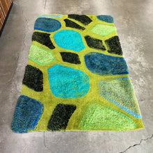 Load image into Gallery viewer, Vintage Rya Rug (FREE SHIPPING)