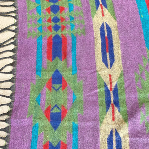 Vintage Southwestern Wool Throw (FREE SHIPPING)