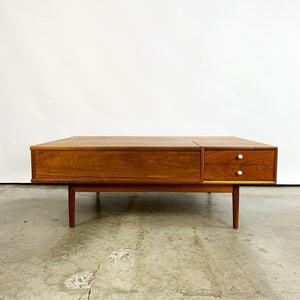 Walnut Coffee Table Designed by Kipp Stewart for Drexel (FREE SHIPPING)