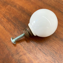 Load image into Gallery viewer, White Porcelain Knob Designed by Kipp Stewart for Drexel (FREE SHIPPING)