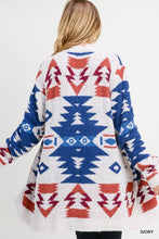 Load image into Gallery viewer, Cheyenne Plush Cardigan-Tribal Ivory