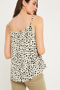 Jadyn Leopard/Lace Cami-2 Colors