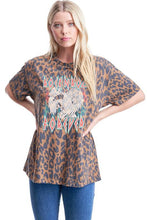 Load image into Gallery viewer, Leopard Rock N Roll Tee