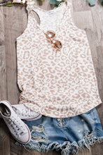 Load image into Gallery viewer, Leopard Print Loungewear Top-Taupe