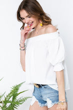 Load image into Gallery viewer, Leann Off Shoulder Top