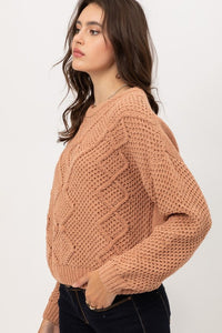 Vivianne Sweater- Clay