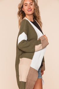 Nothing Lasts Forever Cardigan- Olive