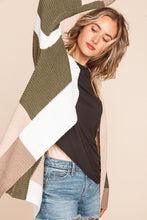 Load image into Gallery viewer, Nothing Lasts Forever Cardigan- Olive