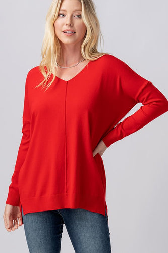 Corey Top - Red