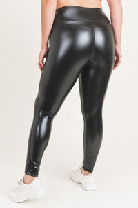 Couri Liquid Leggings-Glossy
