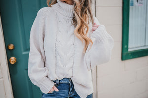 Josephine Chenille Sweater-Oatmeal