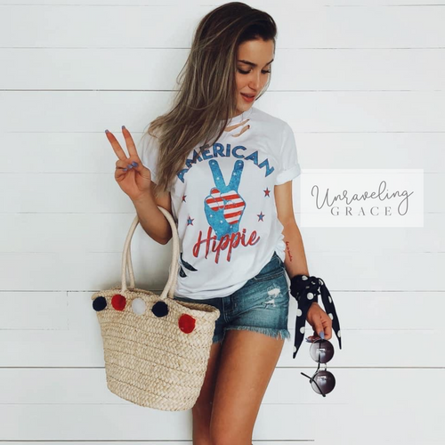 American Hippie-Distressed