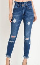 Load image into Gallery viewer, Austin Paper Bag Waist Skinny jeans