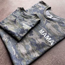 Load image into Gallery viewer, Mama's Boy Camo Tee