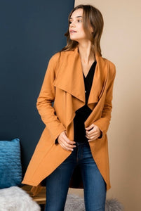 Cozy Up blazer coat