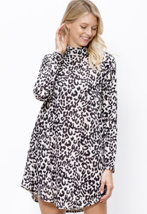 Malani Leopard Dress