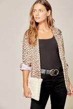 Load image into Gallery viewer, Olivia Leopard Blazer